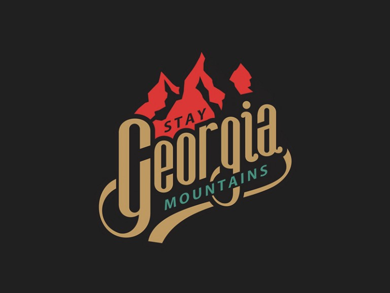 Georgia Mountains Logo